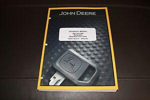 john deere 35d 50d excavator repair operation test service manuals rh ebay com John Deere 35D Trailer On John Deere 35D Adaptor Plate