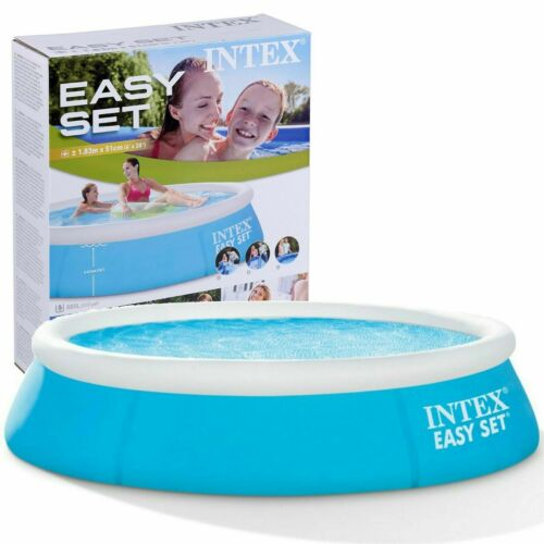 Heavy Duty INTEX EasySet Piscine Ronde enfants famille Large 6 ft sans pompe environ 1.83 m