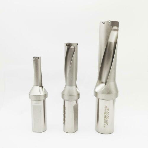 KLOT SP Series 4D 40.5mm-70mm Indexable Drill Insert U Drill W//Coolant Thru Hole