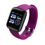 Smart-montre-Bracelet-Bracelet-Fitness-Rythme-Cardiaque-BP-Monitor-for-iPhone-Android miniature 17