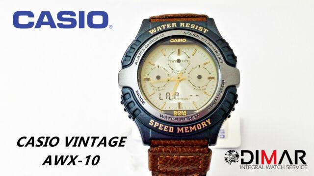 VINTAGE CASIO ORIGINAL AWX-10 MODULO 1350 WR.50