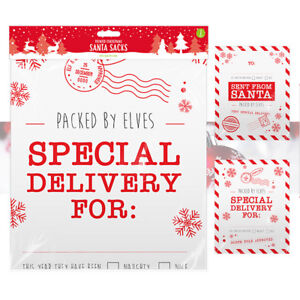2-x-Christmas-Stockings-Santa-Sacks-Packed-By-Elves-Extra-Large-Gift-Bag-78x62cm