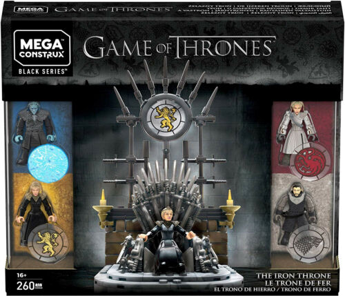 The Iron Throne Building Set Kid Toy Gift Mega Construx Game of Thrones