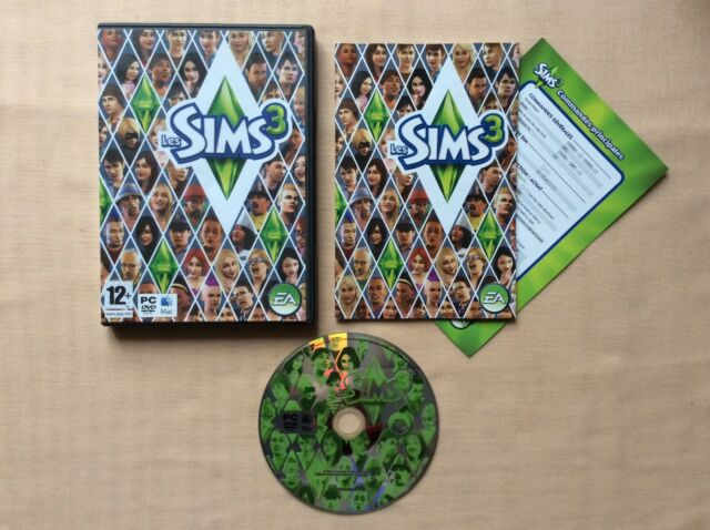 PC Les Sims 3 PC MAC DVD-ROM PAL FR COMPLET