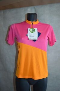 MAILLOT-ECO-VELO-VAUDE-NEUF-TAILLE-11-12-ANS-146-152-CM-JERSEY-MAGLIA-BICI-BIKE