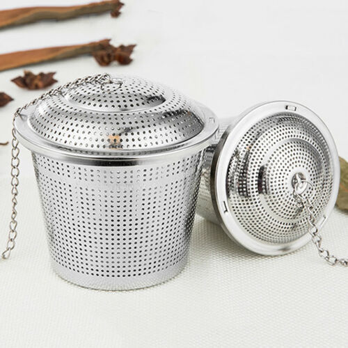 Stainless Steel Ball Tea Strainer Infuser Mesh Filter Loose Leaf Spice WA