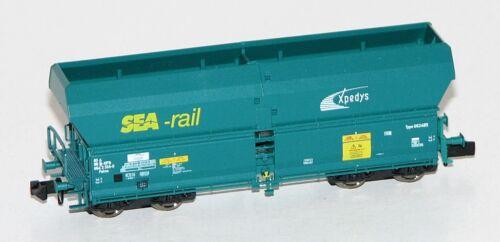 """xpedys NEU Fleischmann N 852324 Selbstentladewagen /""""SEA-rail/"""" der SNCB OVP"""