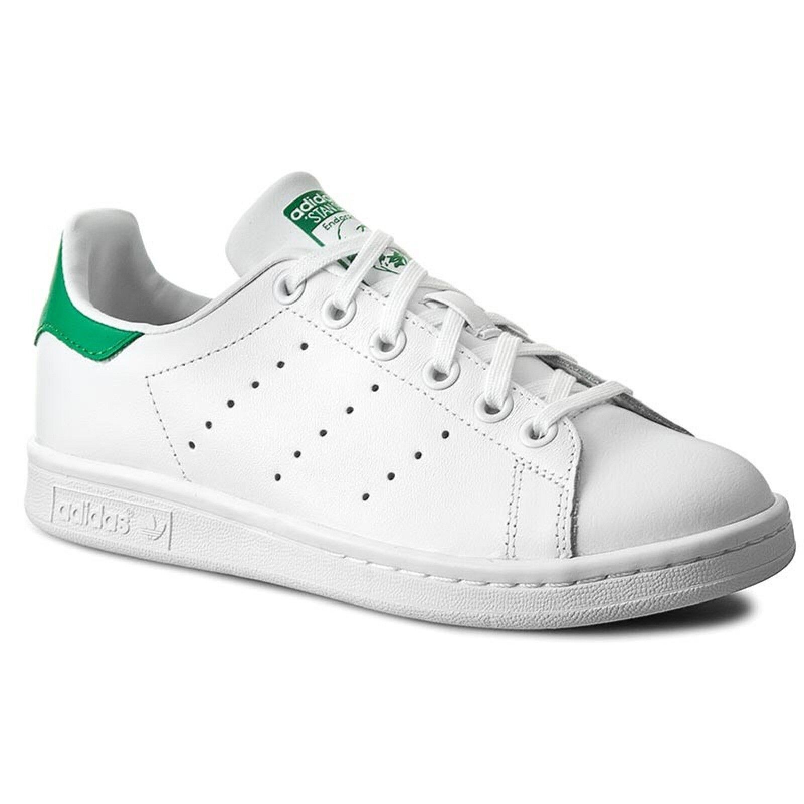 ADIDAS Stan Smith Bianco Bianco Bianco verde blanco verde zapatilla de deporte Man hombres zapatos da ginnastica  envío gratuito a nivel mundial