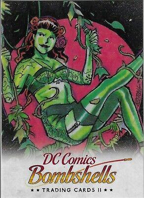 Cryptozoic DC Bombshells Trading Cards Season 2 Promo P4 Philly Non Sport Show