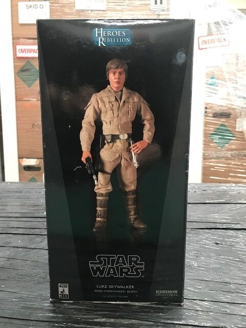 SIDESHOW LUKE SKYWALKER REBEL COMMANDER BESPIN