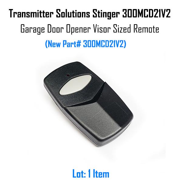 Stanley 1050 310MHz Compatible Garage Door Remote Transmitter Solutions 310MCD21V
