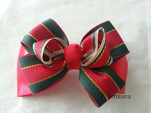 Jemlana-039-s-handmade-Christmas-hair-clip-for-girls