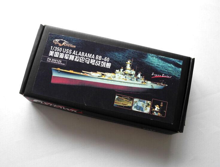 Flyhawk 1 350 350125 USS Alabama  for Trumpeter