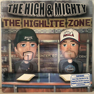 THE-HIGH-amp-MIGHTY-HIGHLITE-ZONE-VINYL-2LP-2003-RARE-COPYWRITE-CAGE