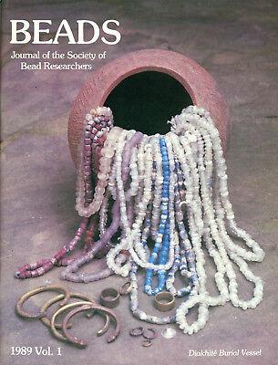 BEADS 16: Red Coral 19th C African Bead Catalog Venice Beadmaking Dentalium