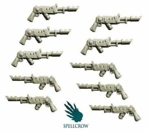 Warhammer 40k Imperial Guard Lasgun Spellcrow Conversion Bits Laser Guns Bits