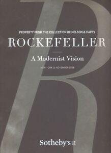 Sotheby's New York ROCKEFELLER A MODERNIST VISION 2018  HB