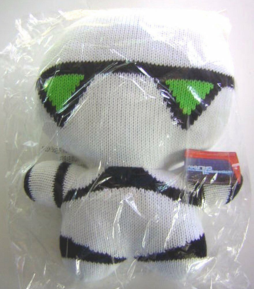 NECA Hitchhikers Guide To The Galaxy MARVIN 12 Inch Knitted PLUSH Doll NEW Seale