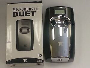 Microburst Duet Dispenser Metered White/Gray