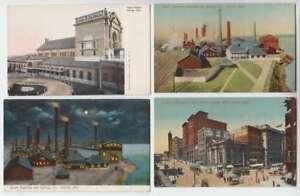 A0988 : (15) 1900's Ohama , Nebraska Couleur Cartes Postales