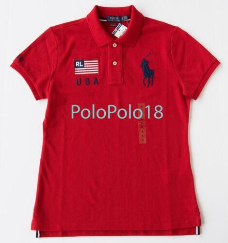 Usa Polo Big Maglia donna Ralph Lauren S New Pony Xs L 0xdq0