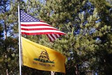 Wholesale LOT 3X5FT New USA AMERICAN & Gadsden Dont Tread on Me FLAG Banner