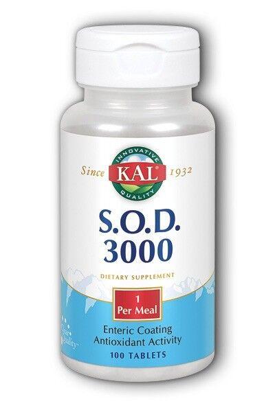 S.O.D. 3000 Kal 100 Tabs
