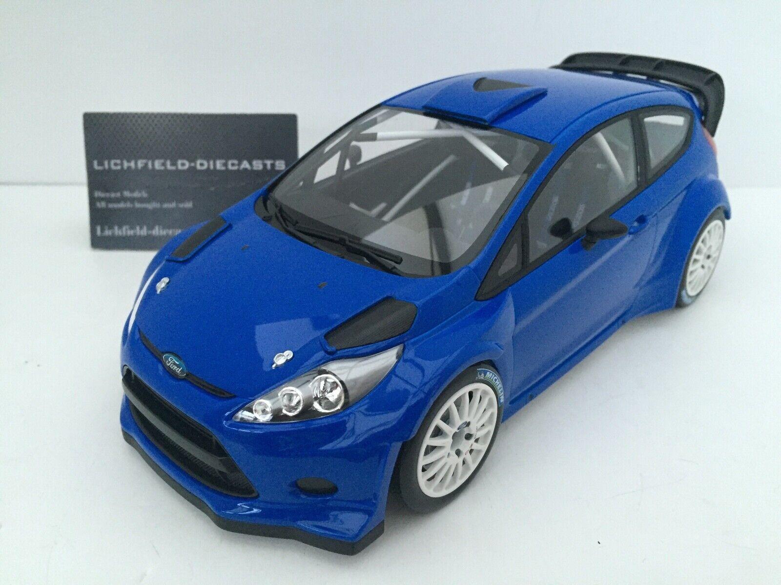 Minichamps 1 18 Ford Fiesta RS WRC  Street  bluee LTD 1002 PCS 151 110891 V.RARE