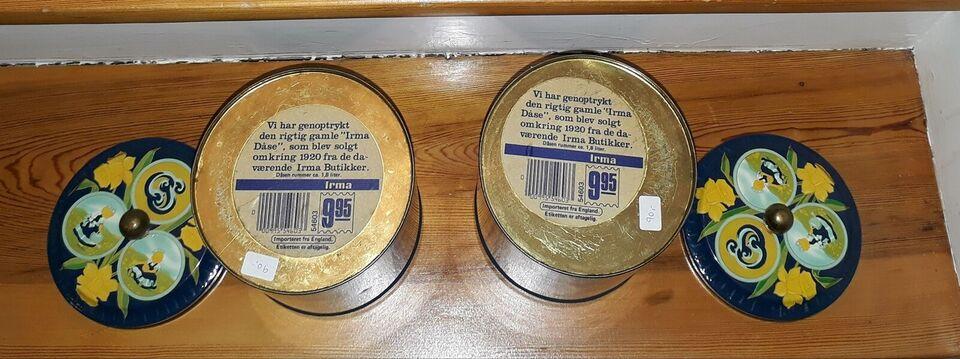 Dåser, Irmapigen dåser til ris og mel