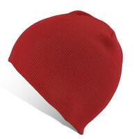 Unisex Men Women Wool Knitted Winter Warm Hip-Hop Ski Beanie Cuff Skull Cap Hat