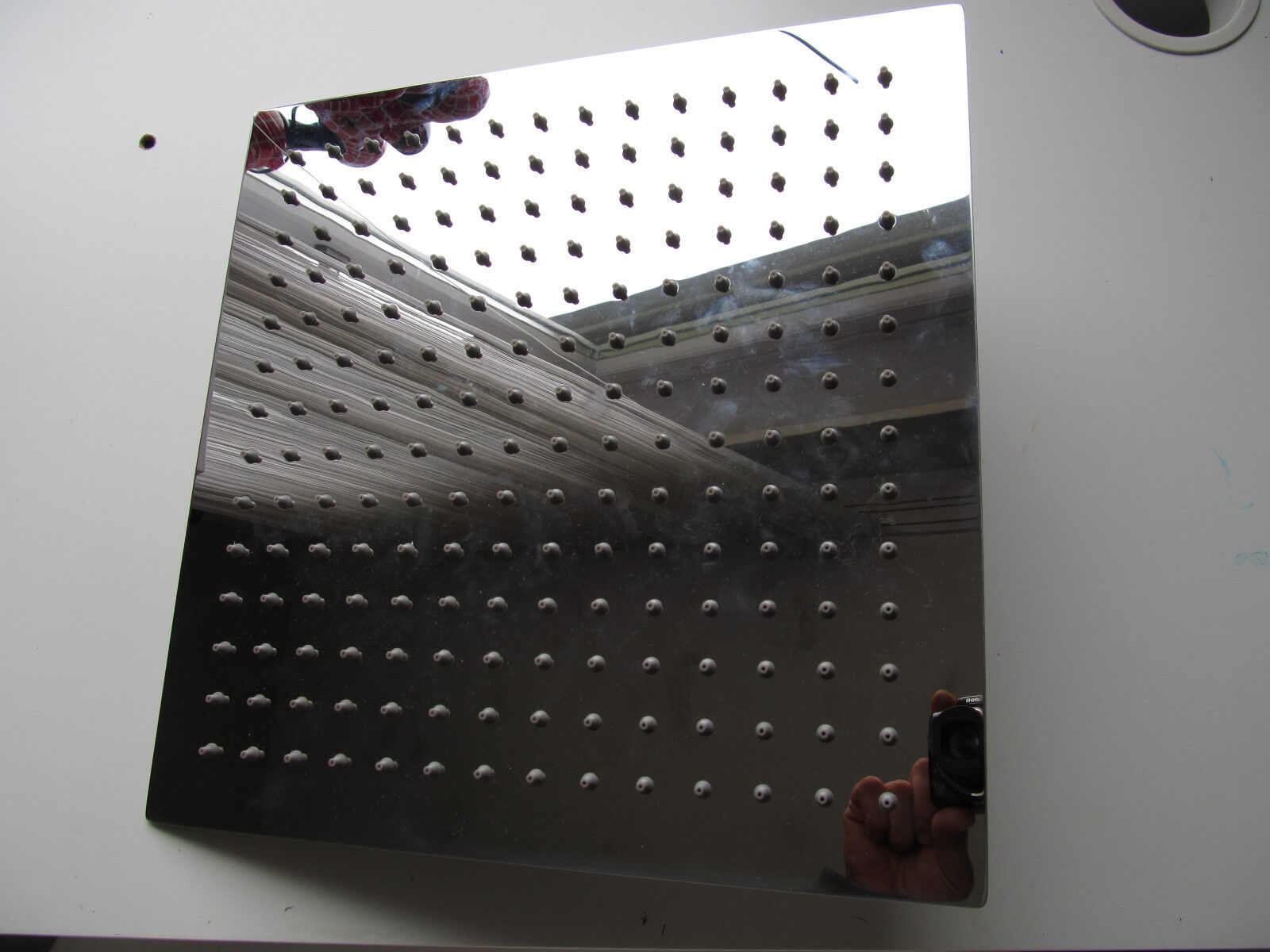 Duschkopf Regenbrause  Brausekopf  Kopfbrause Brause Dusche 300 mm Metall