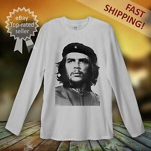 7cfa94410 Ernesto Che Guevara Long Sleeve T-Shirt Men Women Unisex Cuba ...