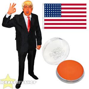 Gli adulti Presidente degli Stati Uniti USA REPUBBLICANO Costume Tuta