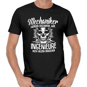 Mechaniker-wurden-erschaffen-Schrauber-Handwerker-KFZ-Auto-Motorrad-Fun-T-Shirt