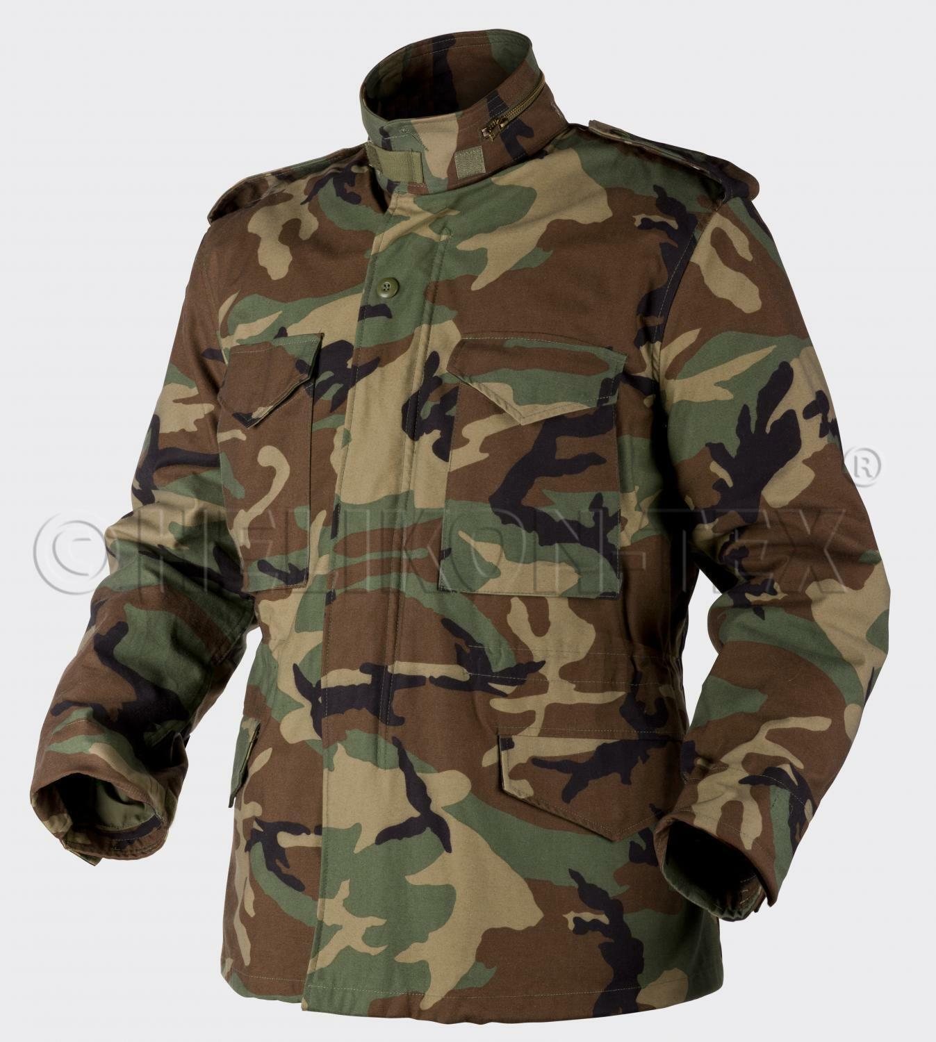 US m65 Giacca Army REFORGER Field Jacket Woodle Mimetico MR MEDIUM REGULAR
