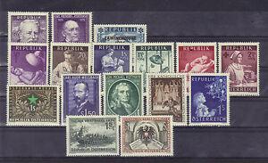 Osterreich-Jahrgang-1954-komplett-feinst-postfrisch