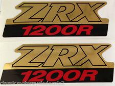 KAWASAKI ZRX ZRX1200 ZRX1200R SIDE PANEL DECALS