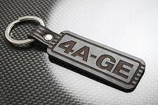 TOYOTA 4AGE Leather Keyring Keychain Schlüsselring Porte-clés MR2 AW11 JDM 4A-GE