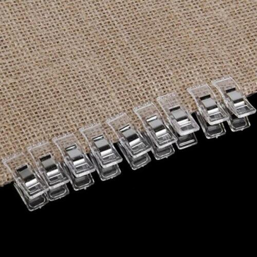 New 50pcs Mini Wonder Clips Holding Capacity Sewing Craft Hobby Alternative 6A