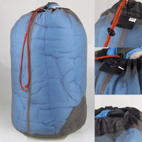 Ultra Light Mesh Stuff Sack Storage Drawstring Travel Camping Hiking Bag