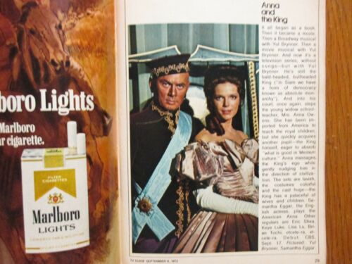 1972 FALL PREVIEW TV Guide(ANNA AND THE KING/THE WALTONS/MASH/KUNG FU/MAUDE