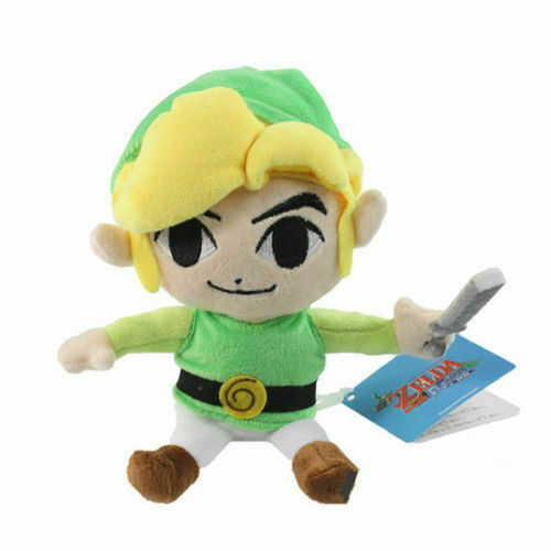 """7/"""" The Legend of Zelda Game Link Plush Toy Kids Stuffed Soft Toy Doll Gift"""