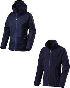 McKinley chica outdoor ocio 3in1 chaqueta doble chaqueta Justin Navy Dark