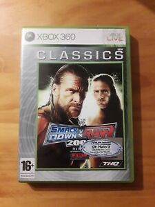 wwe smackdown vs raw 2009 xbox 360 complet