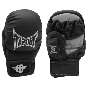 Focus Mitts Black TapouT Curved Striking Glove One Size