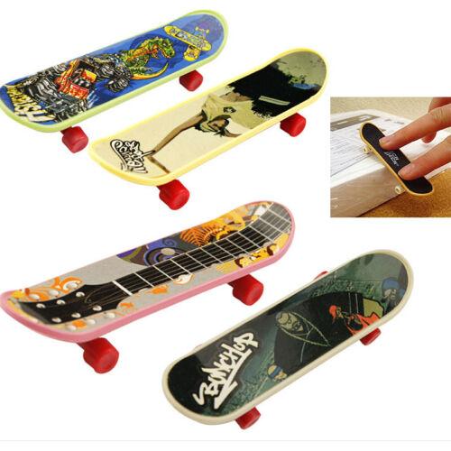 5 Mini Finger Board Fingerskateboard Skateboard Xmas Kinder Toy Geschenk DF