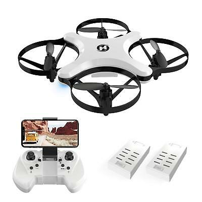 Holy Stone HS220 FPV Wifi RC Drone Foldable 2 Fly Modes HD Camera Training Gift