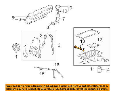 OEM 4.3L Engine Oil Fluid Level Indicator 07-13 Silverado Sierra 1500 12619013