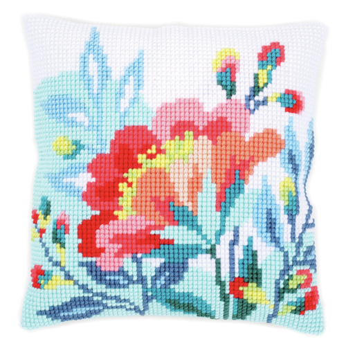 Lighthouse chunky cross stitch cushion front kit 40x40cm by Vervaco