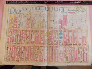 Hells Kitchen New York Map.1898 Nyc New York City Atlas Map 24 Hells Kitchen 22 5 X 33 Map